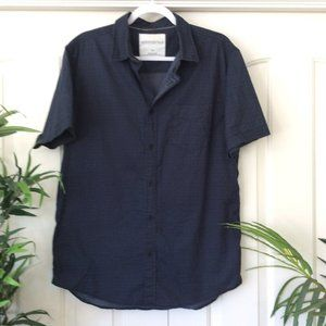 Aeropostale Mens Large Blue Casual Shirt